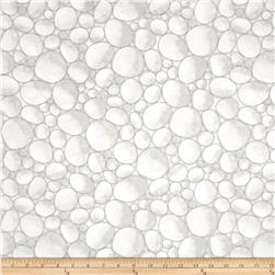 Kanvas White Out River Rocks Baby Breath Taupe/White