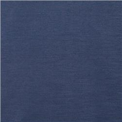 European Linen/Silk Blend Satin New Indigo