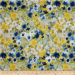 Walking on Sunshine Packed Floral Yellow