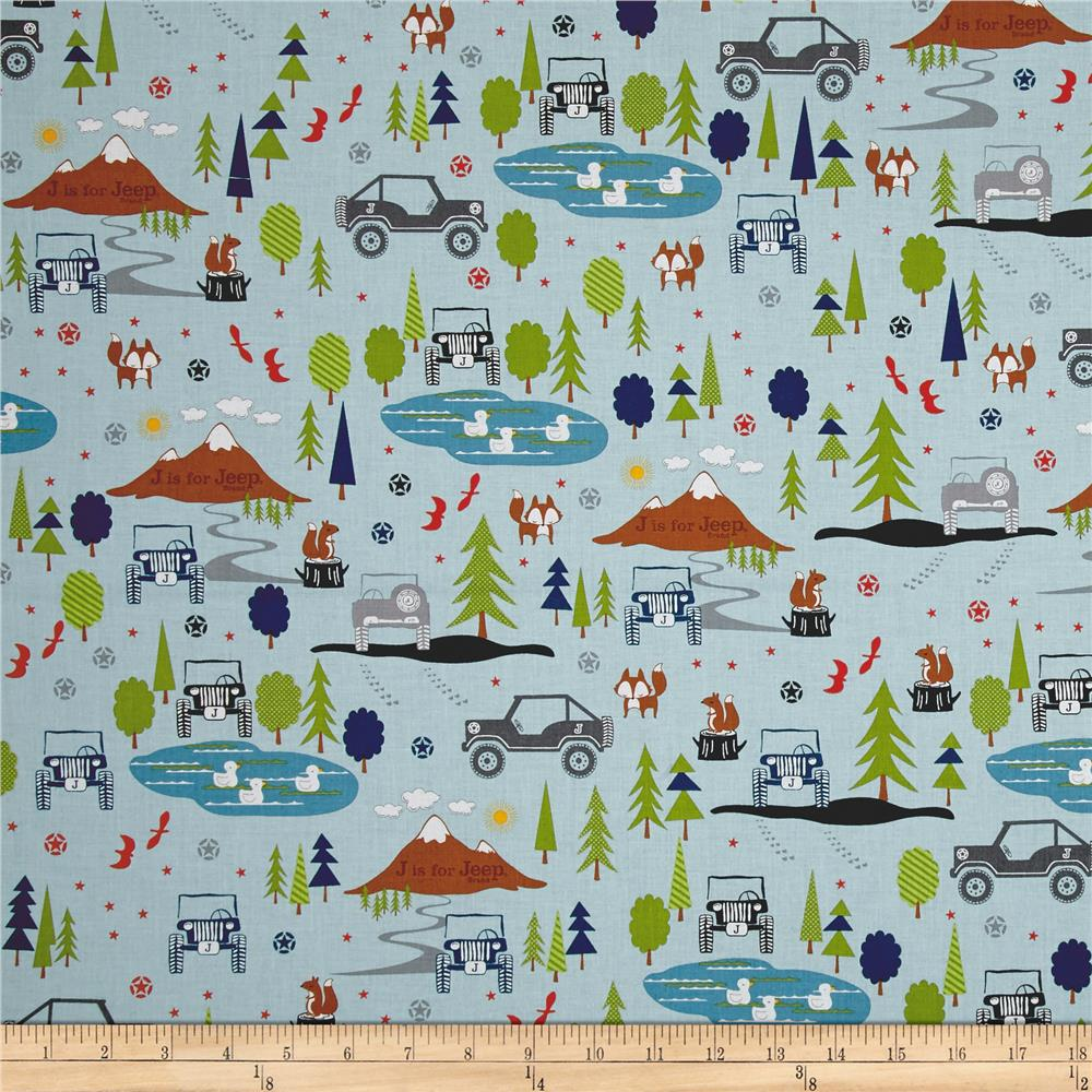 Jeep fabric by the