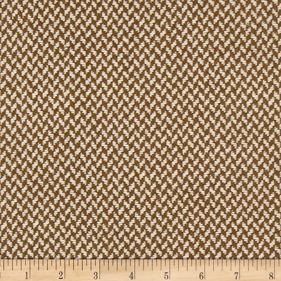 Wool Blend Coating Brown/Cream