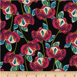 Veracruz Tulips Black