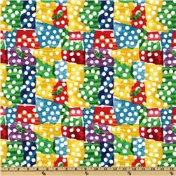 The Very Hungry Caterpillar Dots Mutli Fabric