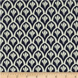 Riley Blake Vintage Verona Scales Navy Fabric