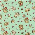 Flannel Pet Dreams Mint