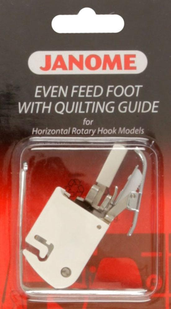 Janome Even Feed Foot w/Quilting Guide