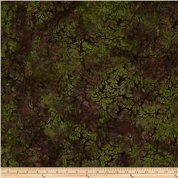 Bali Batiks Handpaints Leafy Damask Jungle