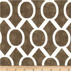 Premier Prints Sydney Slub Italian Brown Fabric