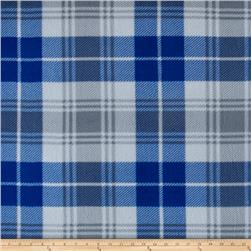 Simply Tartan Fleece Blue/Silver