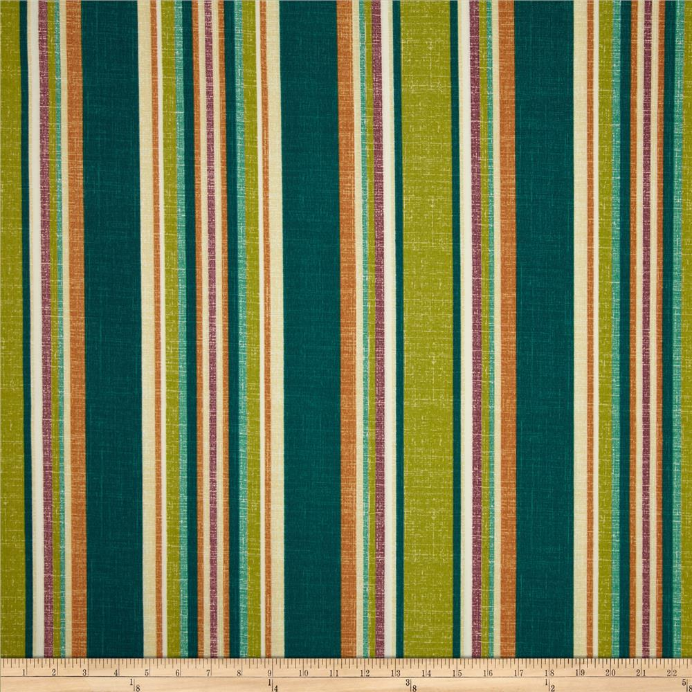 Bryant Indoor/Outdoor Baldwin Stripe Zinnia