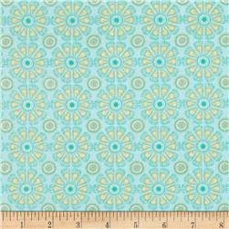 Kitchen Love Daisy Love Light Turquoise
