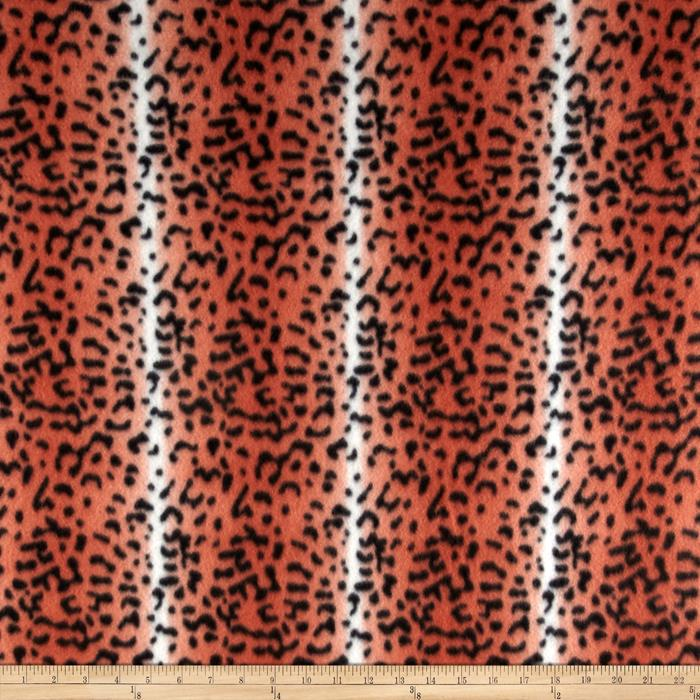 Fleece Skins Cheetah Orange