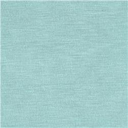Silky Rayon Jersey Knit Solid Light Aqua