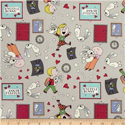 Cloud 9 Organic Knuffle Bunny All Things Fun Gray