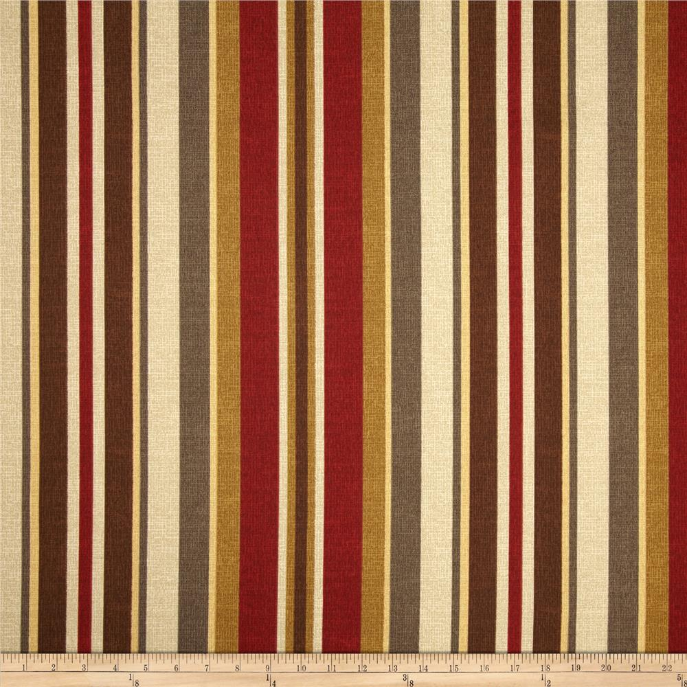 Bryant Indoor/Outdoor Roxen Stripe Nutmeg