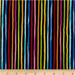 Loralie Designs Happy Stripe Black
