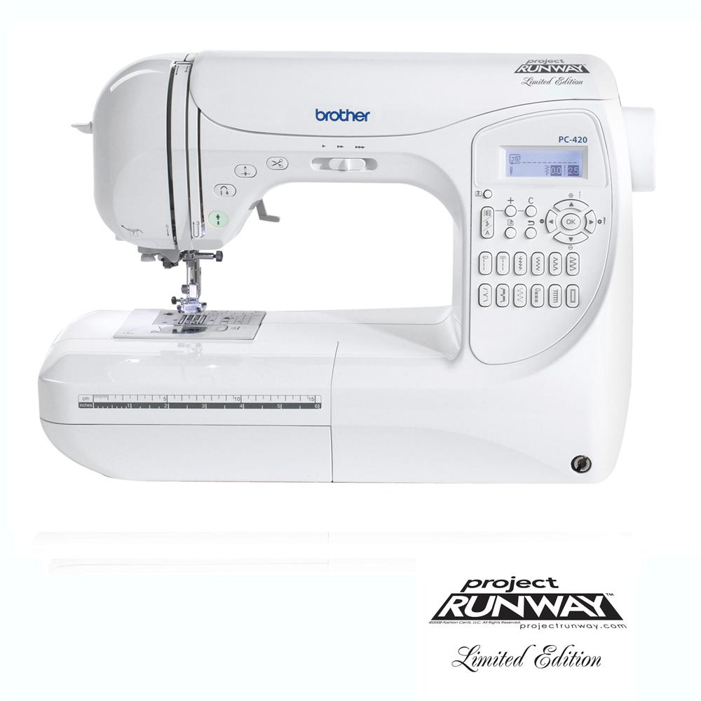 Brother PC-420 PRW Limited Edition Project Runway Sewing
