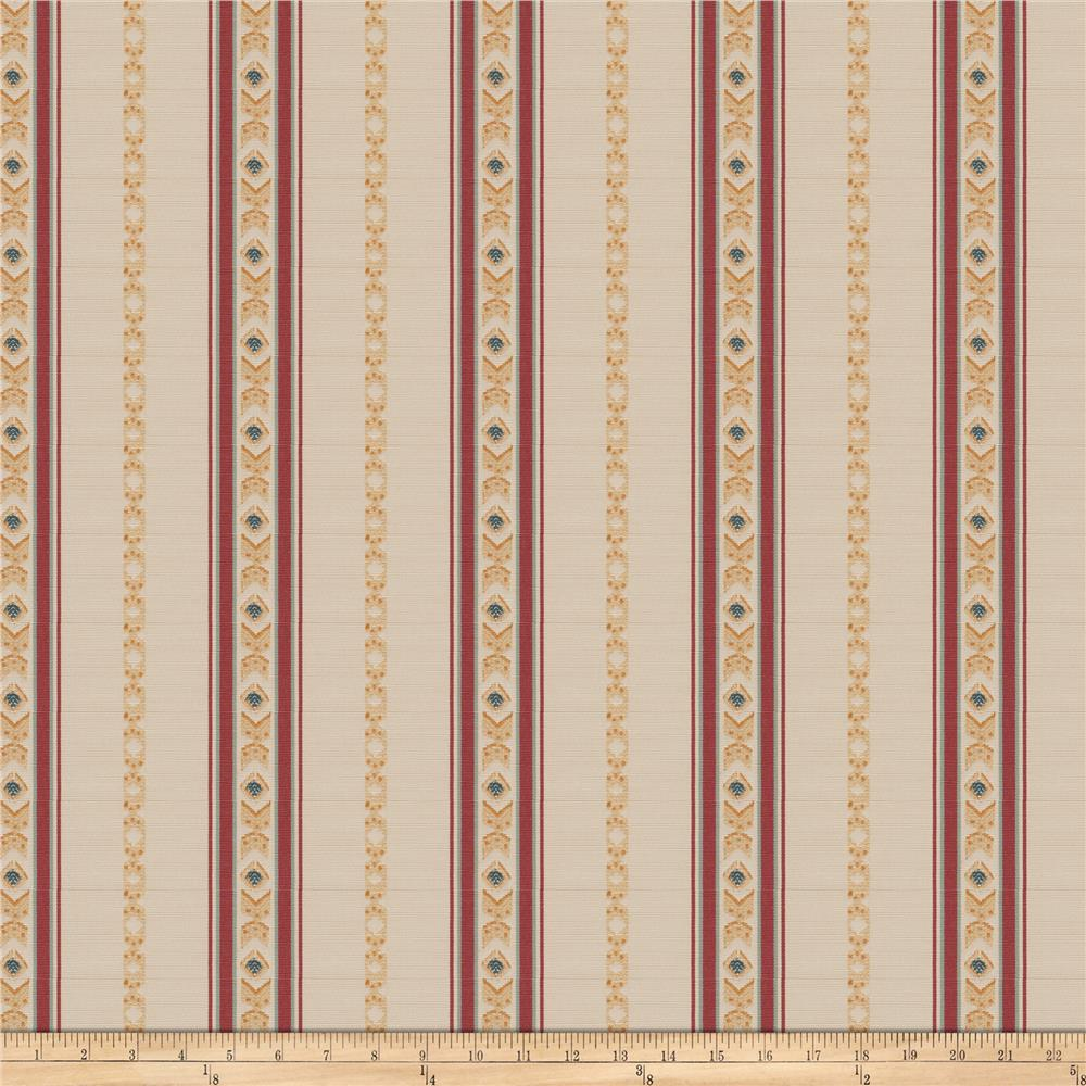 Fabricut Regal Stripe Mulberry