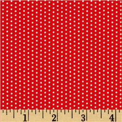 Moda Here Boy! Dots Red