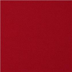 Stretch Performance Pique Double Knit Red