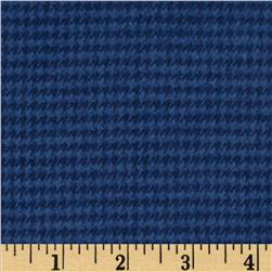 PRIMO PLAIDS FLANNEL SMALL PLAID NAVY
