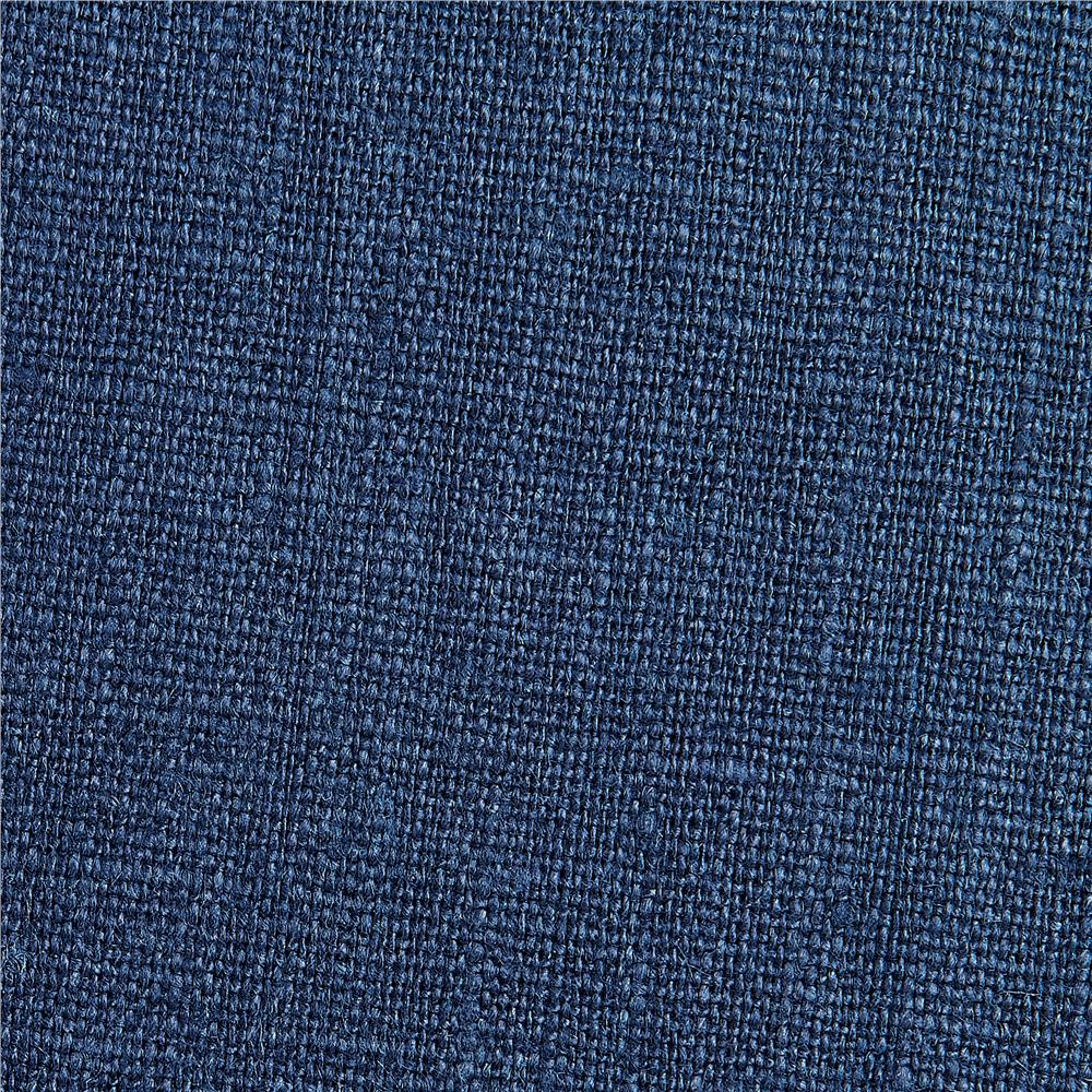 European Linen Fabric Navy