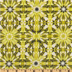 Silent Cinema Laminated Cotton Starlet Green