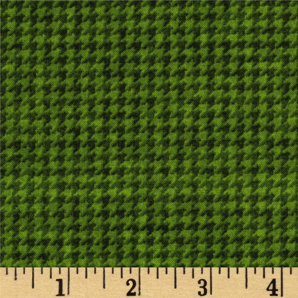 The King's Arrival Houndstooth Check Green
