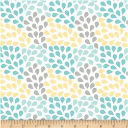 Riley Blake Little Ark Rain Aqua
