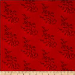 "108"" Wide Quilt Back Tonal Vineyard Red"