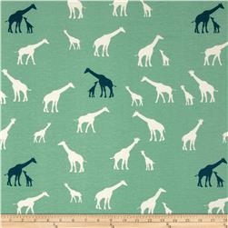 Birch Organic Serengeti Interlock Knit Giraffe Family Pool