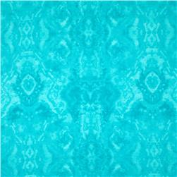 Comfy Flannel Tone on Tone Aqua