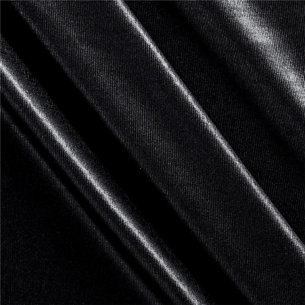 Spandex Slinky Knit Fluid Black