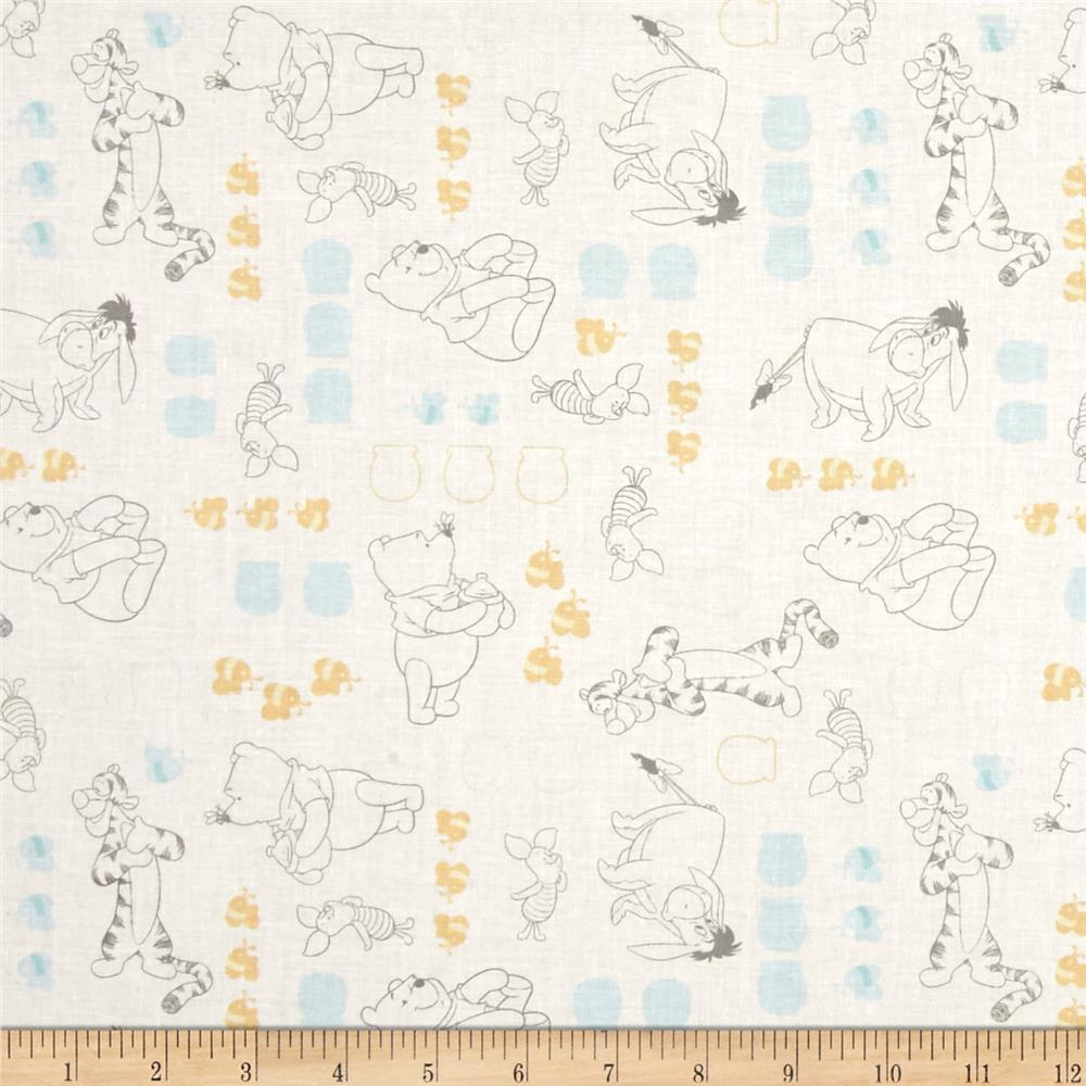 Disney Winnie The Pooh Characters White