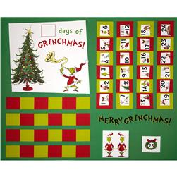 How The Grinch Stole Christmas Advent Calender Holiday