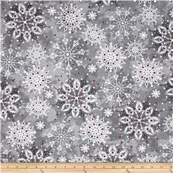 Christmas Dreams Snowflakes Pewter