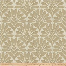 Fabricut Crespo Leaves Faux Silk Beige
