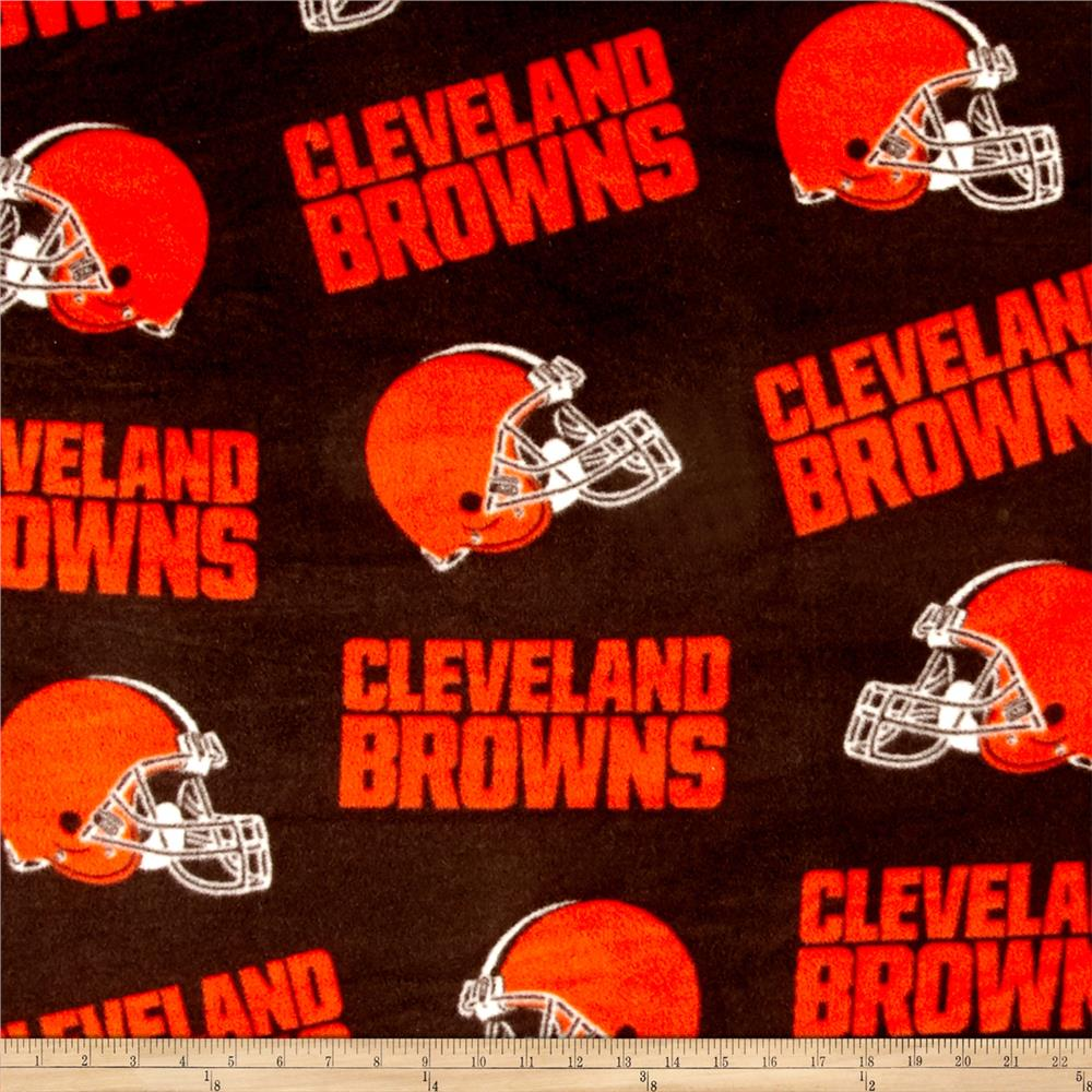 NFL Fleece Cleveland Browns Orange/Brown