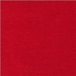 Cotton Spandex Jersey Knit Solid Fire Engine Red