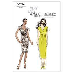 Vogue Misses' Dress Pattern V8724 Size A50