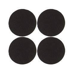 "Craft Felt Circle Pack 2 1/2"" Black"