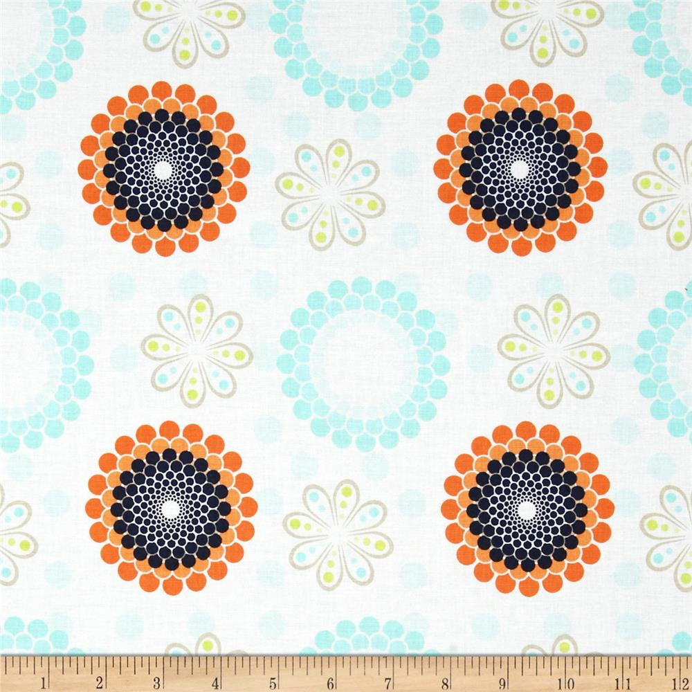 Riley Blake Ashbury Heights Floral Blue