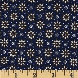 Decorative Small Medallions Blue