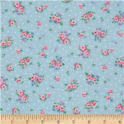Flower Sugar Small Floral Dot Blue