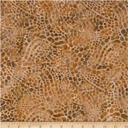 Indonesian Batik Dots Brown