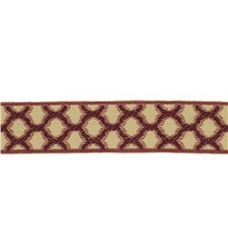 "Fabricut 1.5"" Decor Trim Garnet"