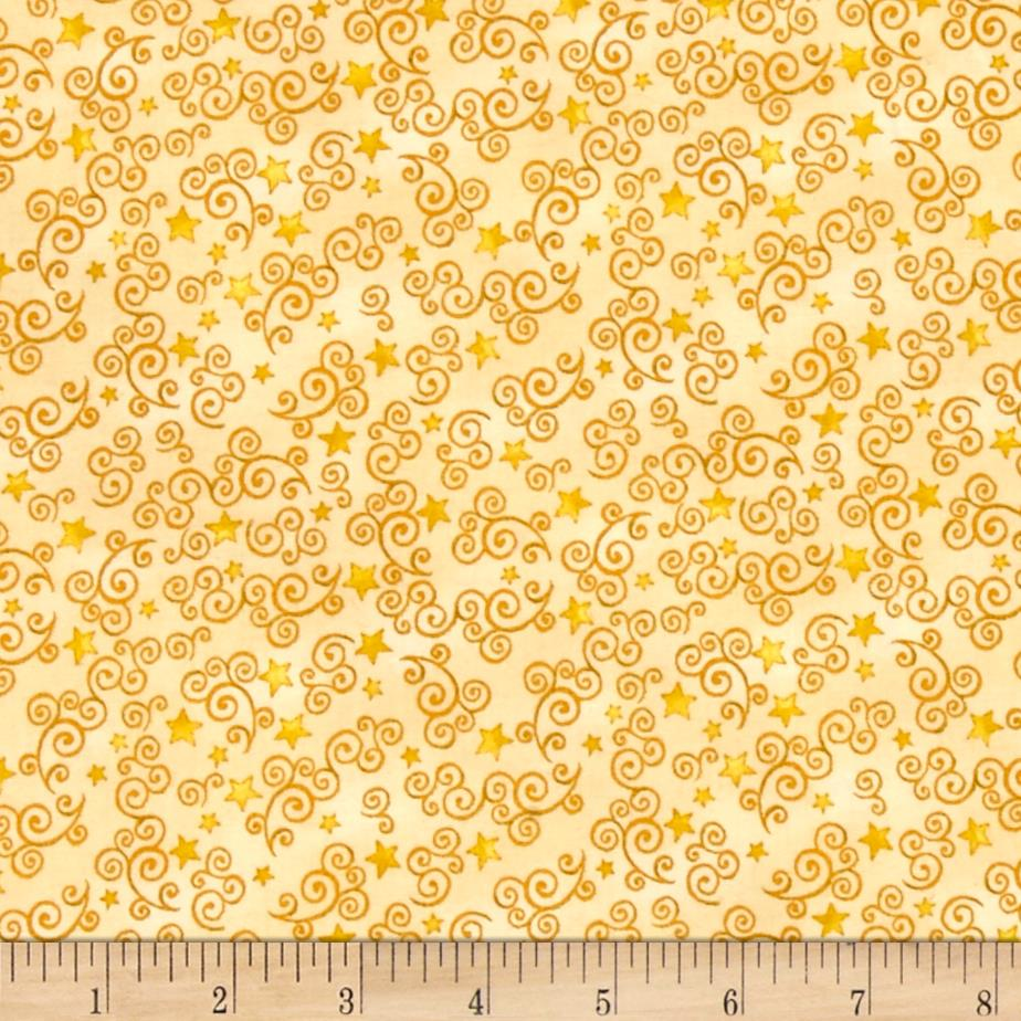 Royal Princess Star Amp Scroll Yellow Discount Designer