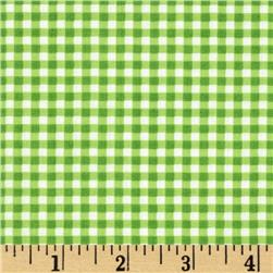Patchwork Pals Gingham Green