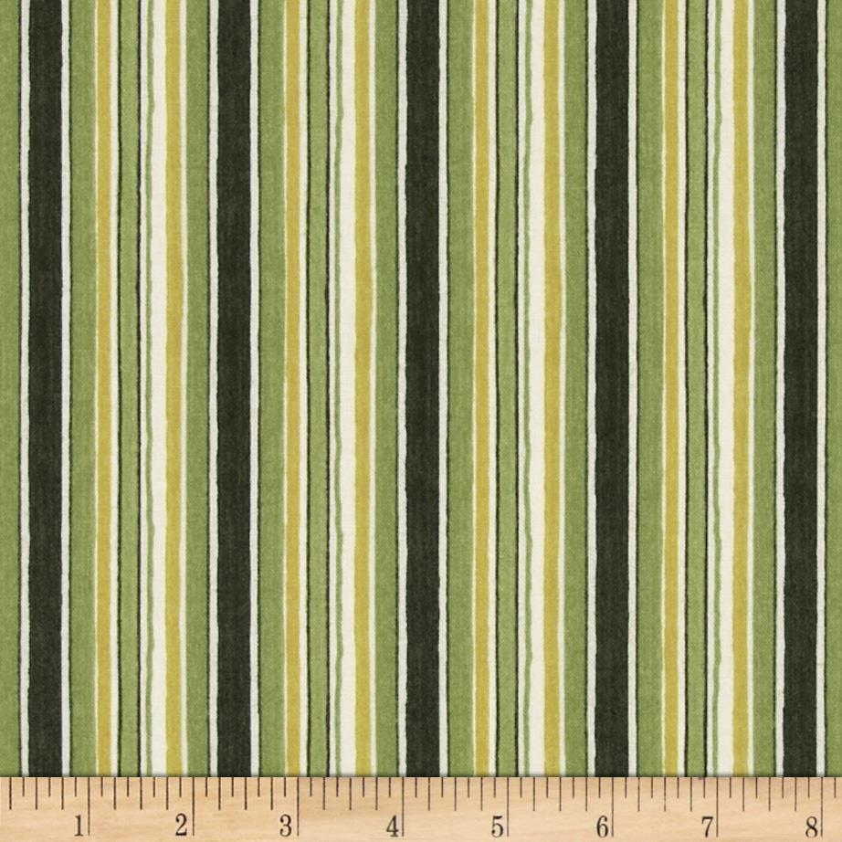 From Paris with Love Stripe Green/White
