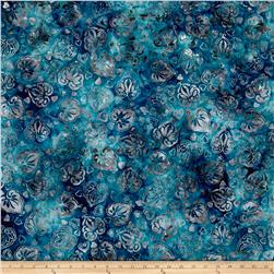 Anthology Batik Leaves Gray/Blue